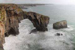 Grüne Brücke von Wales Lizenzfreie Stockfotos