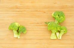 Grüne Brokkolikohlblumen Stockbild
