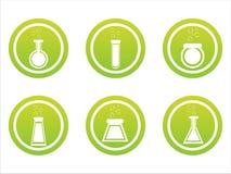 Grüne chemische Zeichen vektor abbildung