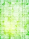 Grüne defocus Zusammenfassungs-Hintergrundvertikale stock abbildung
