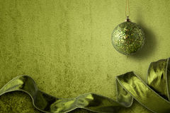 Grüne Dekorationen Lizenzfreies Stockfoto