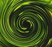 Grüne Drehbeschleunigung Lizenzfreies Stockbild