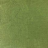 Grüne Dreieck-Pyramiden-Muster-Polyester-Beschaffenheit stockbild