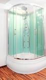 Grüne Dusche Stockfoto