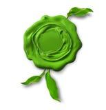 Grüne eco Garantiedichtung Lizenzfreie Stockbilder