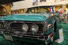 Grüne Edsel-Details Stockbilder