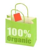Grüne Einkaufstasche Lizenzfreie Stockfotos