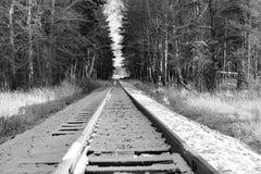 Grüne Eisenbahnbrücke Lizenzfreies Stockfoto