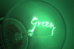 Grüne Energie. Lizenzfreies Stockfoto