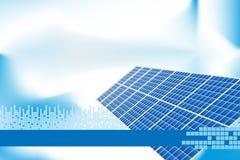 Grüne Energie - Broschüre-Abdeckung oder Visitenkarte Lizenzfreie Stockfotos
