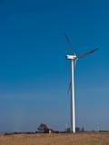 Grüne Energie für ein Landhaus Stockfotos