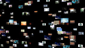 GRÜNE ENERGIE-GESAMTLÄNGE stock footage