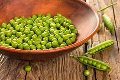 Grüne Erbse lizenzfreie stockfotos