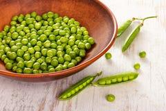 Grüne Erbse stockfotos