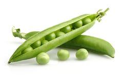 Grüne Erbsen Stockbild