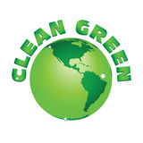 Grüne Erde Lizenzfreie Stockbilder