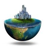 Grüne Erde Stockfoto