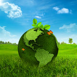 Grüne Erde. Lizenzfreie Stockfotografie