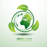 Grüne Erde Lizenzfreies Stockbild
