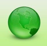 Grüne Erde Stockbild