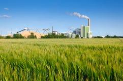 Grüne Fabrik Lizenzfreie Stockbilder