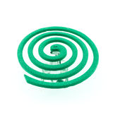 Grüne Farbe des Antimoskitos - Insektenvertilgungsmittel, Spulen Lizenzfreie Stockfotos