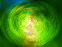 Grüne Farben-Strudel Lizenzfreies Stockbild