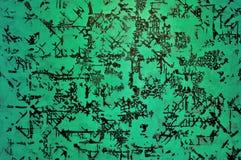 Grüne Farbhintergrund Lizenzfreies Stockbild