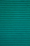 Grüne Farbrollenfensterladen Lizenzfreies Stockbild