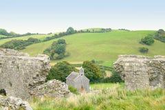 Grüne Felder von Irland Stockbilder
