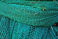 Grüne Fischenfiletarbeit in Howth, Irland Lizenzfreies Stockfoto