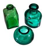 Grüne Flasche Lizenzfreie Stockfotografie