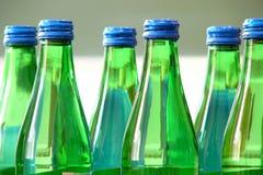 Grüne Flasche Stockfotos