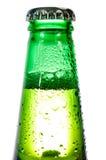 Grüne Flasche Stockfoto