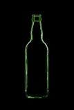 Grüne Flasche Stockbilder