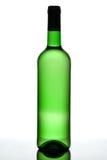 Grüne Flasche. stockfoto