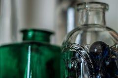 Grüne Flasche Lizenzfreie Stockbilder