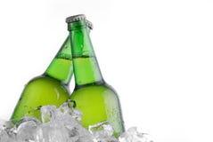 Grüne Flaschen lizenzfreies stockfoto