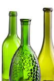 Grüne Flaschen Stockbild