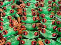Grüne Frösche Lizenzfreies Stockfoto
