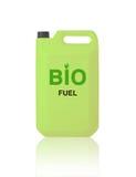 Grüne Gallone Biotreibstoff Stockbilder
