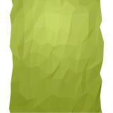 Grüne geometrische Zusammenfassung lizenzfreie abbildung