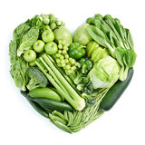 Grüne gesunde Nahrung Lizenzfreie Stockbilder