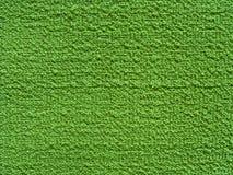 Grüne Gewebebeschaffenheit der Entlastung (Segeltuch) Stockbilder