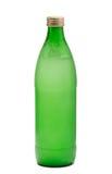 Grüne Glasflasche Stockfotos