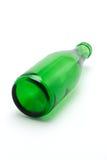 Grüne Glasflasche Stockbild