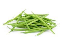 Grüne grüne Bohnen Stockbild