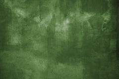 Grüne grunge Wand Lizenzfreie Stockfotografie