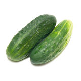 Grüne Gurken Stockfotos