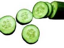 Grüne Gurken Lizenzfreies Stockbild